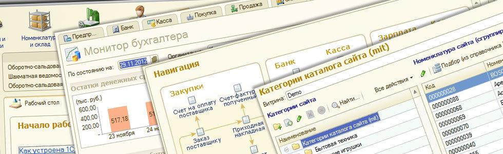 Разработка и сопровождение проектов 1С в СПб и ЛО